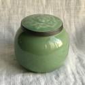 Чайница из дияо цвета зелёной сливы_7362