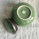 Чайница из дияо цвета зелёной сливы_7364