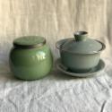 Чайница из дияо цвета зелёной сливы_7365