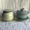 Чайница из дияо цвета желтого риса_7369