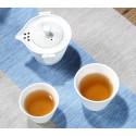 Чайный набор для путешествий (белый)_7370