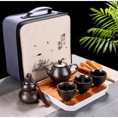 Чайный набор для путешествий с чабанью