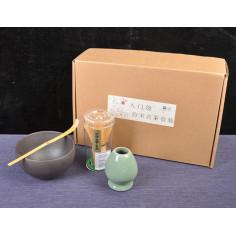 Набор для японского чая (черная чаша)