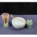 Набор для японского чая (белая чаша)_7409
