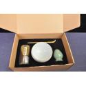 Набор для японского чая (белая чаша)_7412