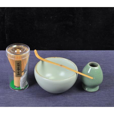 Набор для японского чая (голубая чаша)