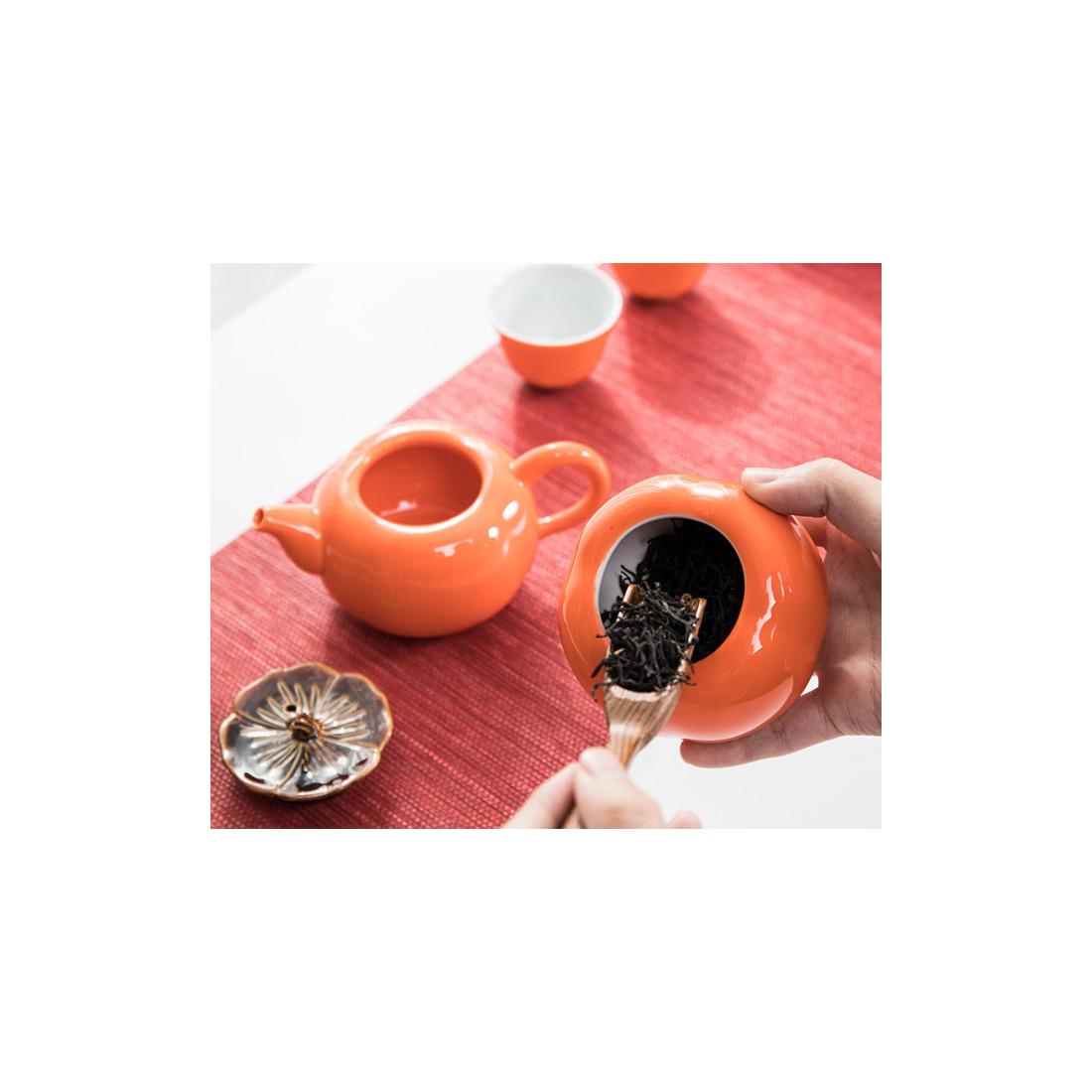 """Чайный набор """"Хурма исполнения желаний"""" в подарочной коробке"""