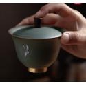 """Благовещий журавль — гайвань керамики """"Жун Шань Тан""""_7810"""