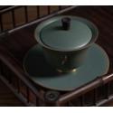 """Благовещий журавль — гайвань керамики """"Жун Шань Тан""""_7811"""