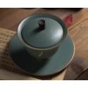 """Благовещий журавль — гайвань керамики """"Жун Шань Тан""""_7817"""