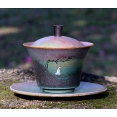 """Совершенное постижение — гайвань керамики """"Жун Шань Тан"""""""