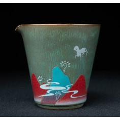"Король-олень — чахай керамики ""Жун Шань Тан"""