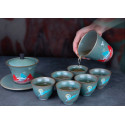 """Король-олень — чаша керамики """"Жун Шань Тан""""_7829"""