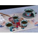 """Король-олень — чаша керамики """"Жун Шань Тан""""_7831"""