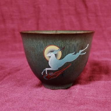 """Король-олень — чаша керамики """"Жун Шань Тан"""""""