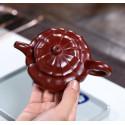 Чайник под старину «Водяной орех» — чайник из исинской глины_7993