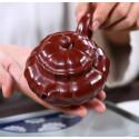 Чайник под старину «Водяной орех» — чайник из исинской глины_7994
