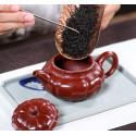Чайник под старину «Водяной орех» — чайник из исинской глины_7995
