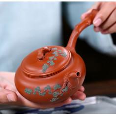 Танский чайник Лу Юя «Сосновые иглы» — чайник из исинской глины