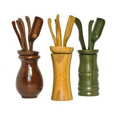 Чайные инструменты, зеленые