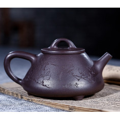 Маленький «Каменный черпак» — чайник из исинской глины