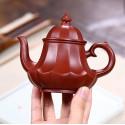 «Фонарь в виде лотоса» — чайник из исинской глины_8068