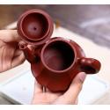 «Фонарь в виде лотоса» — чайник из исинской глины_8070