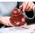 «Фонарь в виде лотоса» — чайник из исинской глины_8072