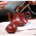 «Фонарь в виде лотоса» — чайник из исинской глины_8073