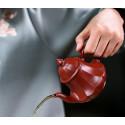 «Фонарь в виде лотоса» — чайник из исинской глины_8074