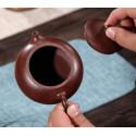 Плоский «Сиши» — чайник из исинской глины_8095