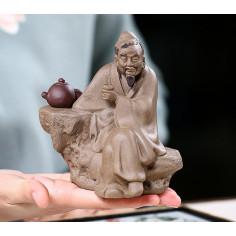 «Лу Юй» — статуэтка из исинской глины