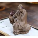 «Лу Юй» — статуэтка из исинской глины_8152