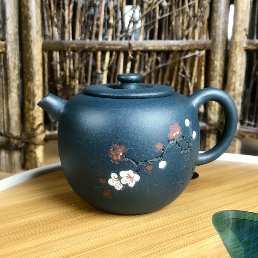 Чайник в форме яблока — чайник из исинской глины