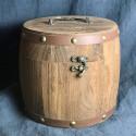 Подарочный деревянный бочонок_8234