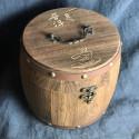 Подарочный деревянный бочонок_8235
