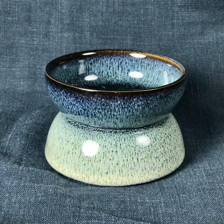 Белые нити - керамическое сито с подставкой