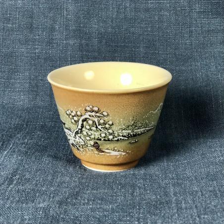 Благодатный снег — керамическая чаша