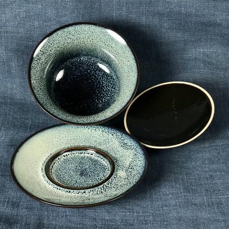 Белые нити - керамическая гайвань