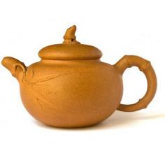 Старый чайник из исинской глины «Бамбук», 205 мл