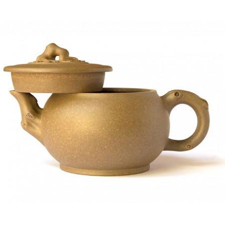 Чайник из исинской глины «Ветка сливы», 260 мл