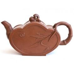 Чайник из исинской глины «бамбуковый», 325 мл
