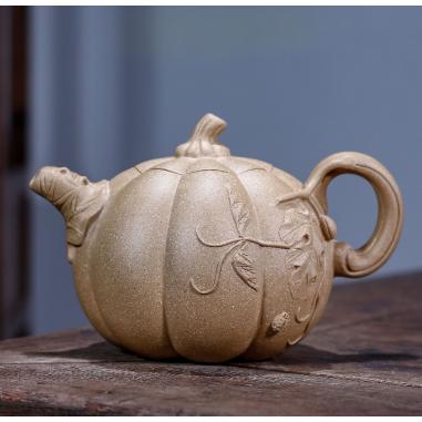 «Тыква» — чайник из исинской глины