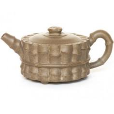 Чайник из исинской глины «Вязанка бамбука», 90 мл