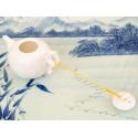 Белый фигурный чайник, 245 мл_976