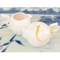 Белый фигурный чайник, 245 мл_977
