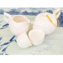 Белый фигурный чайник, 245 мл_978